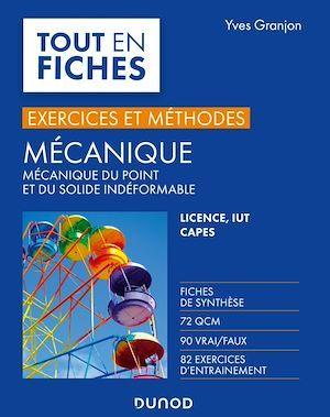Mécanique - Exercices et méthodes  - Yves Granjon