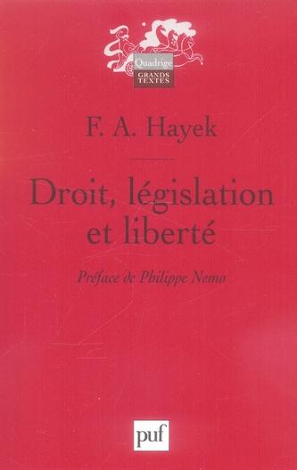 Droit, Legislation Et Liberte