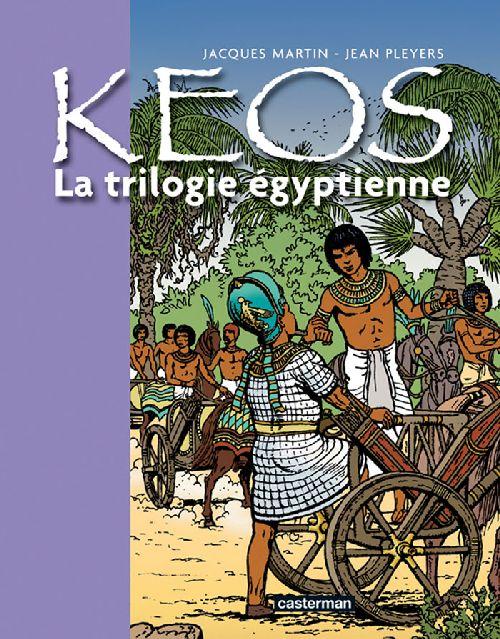 Kéos ; la trilogie égyptienne : Osiris ; le Cobra ; le veau d'or