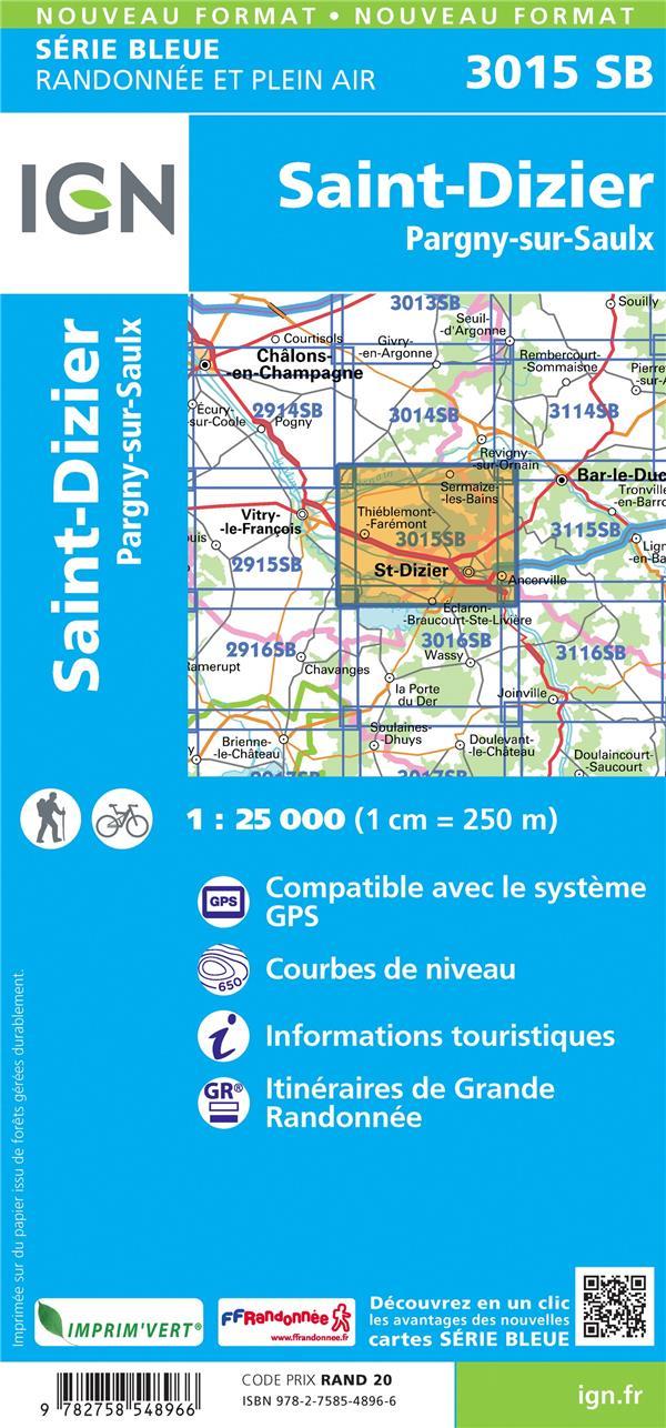 3015SB ; St-Dizier, Pargny-sur-Saulx