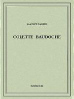 Vente Livre Numérique : Colette Baudoche  - Maurice BARRES