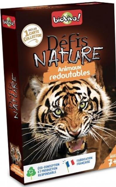 DEFIS NATURE ; animaux redoutables