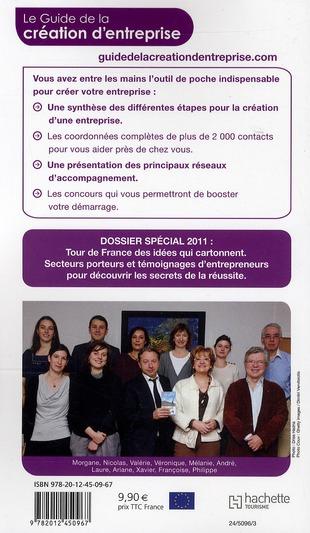 Guide du Routard ; création d'entreprise (édition 2011)