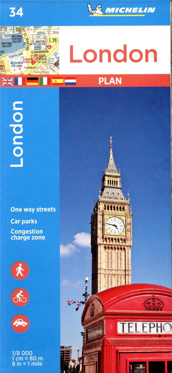 London ; street map and index