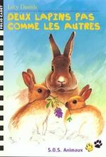 Couverture de Deux lapins pas comme les autres