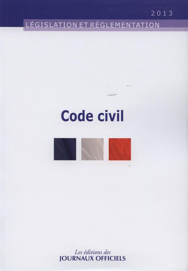 Code Civil (Edition 2013)