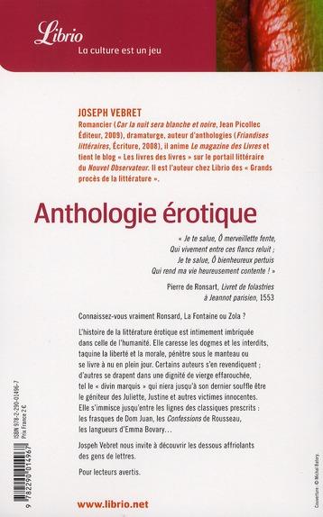 Anthologie érotique