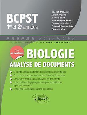 Biologie - Analyse de documents - BCPST 1re et 2e années