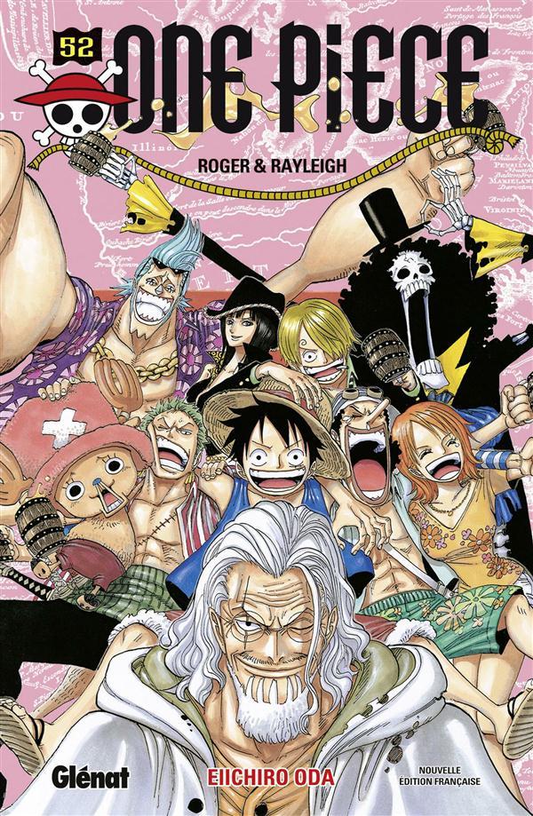 ONE PIECE - EDITION ORIGINALE - TOME 52 - ROGER & RAYLEIGH Oda Eiichiro