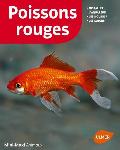 poissons rouges ; installer l'aquarium, les nourrir, les soigner