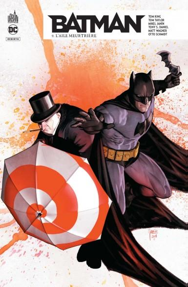 Batman rebirth t.9 ; l'aile meurtrière