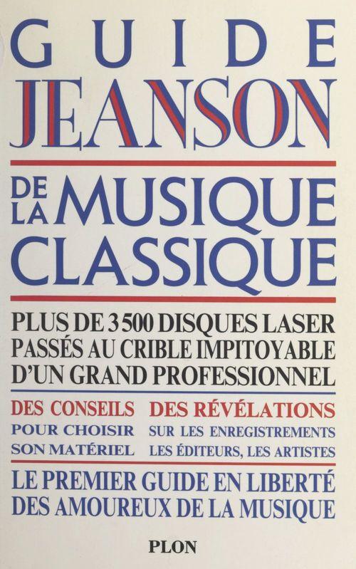 Guide Jeanson de la musique classique