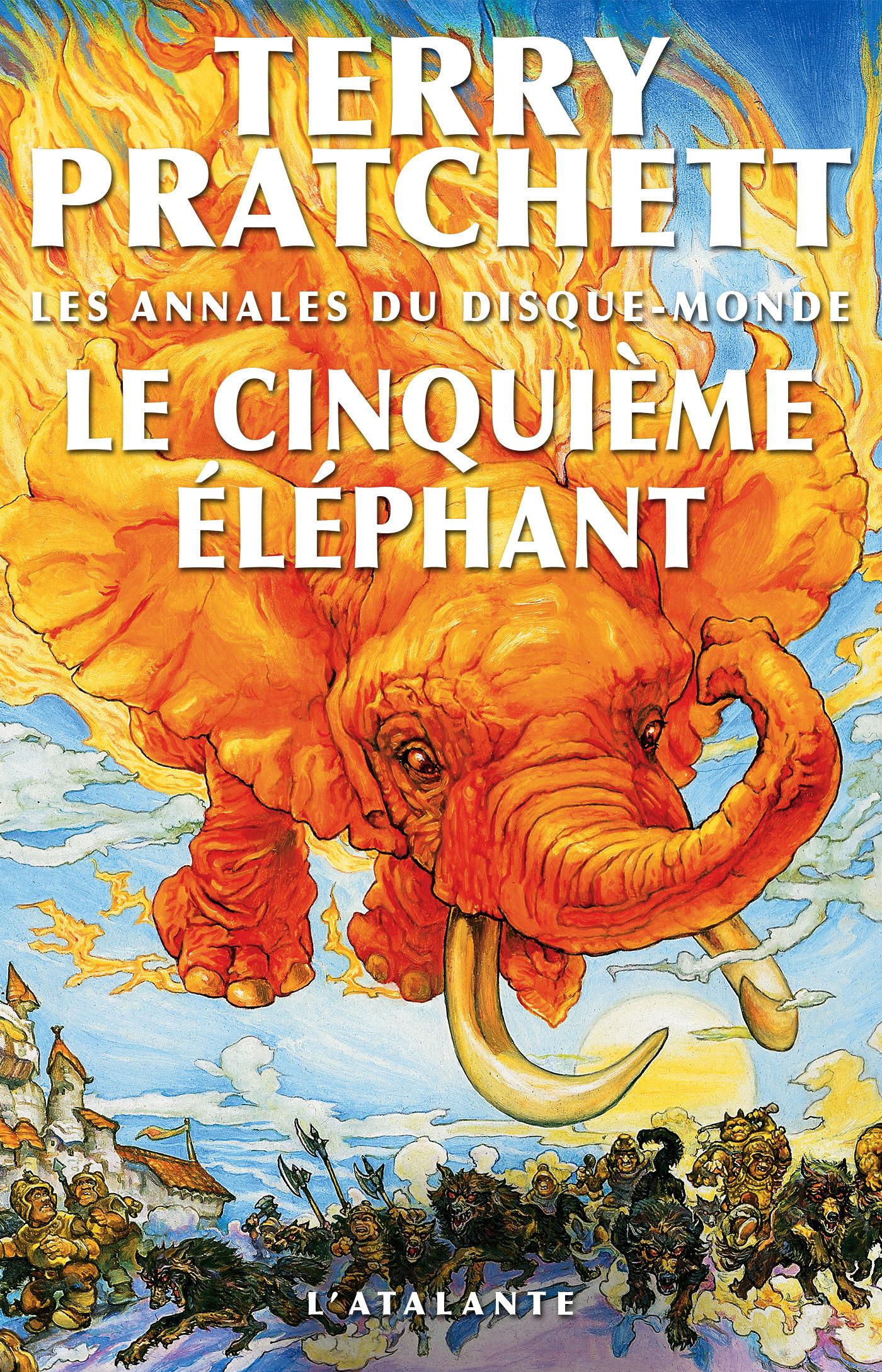 Les annales du Disque-monde T.25 ; le cinquième éléphant