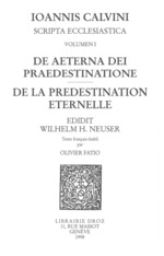 Vente EBooks : De aeterna Dei praedestinatione - De la prédestination éternelle. Series III. Scripta ecclesiastica  - Jean Calvin