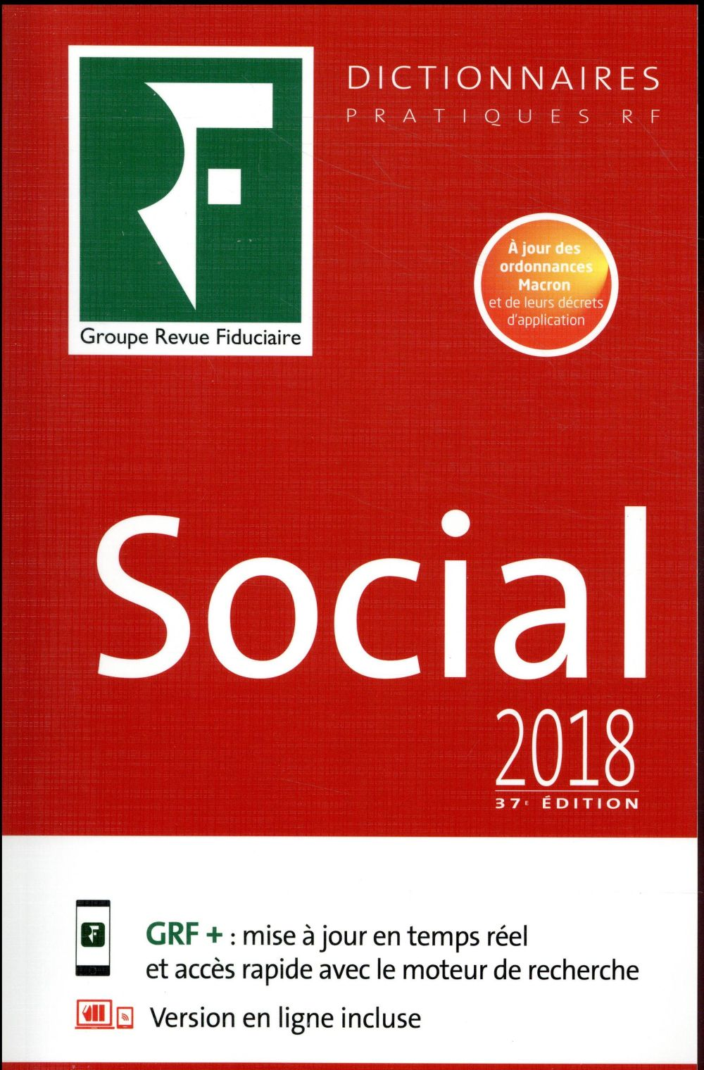 Le dictionnaire social (édition 2018)