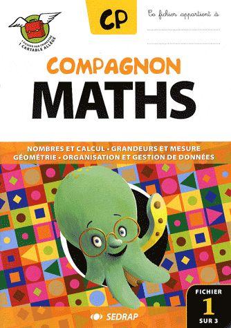 COMPAGNON MATHS ; CP ; lot de 3 fichiers