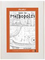 Couverture de Metropolis ; à colorier et à collectionner
