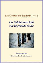 Vente Livre Numérique : Les Contes du flâneur - vol.1 - Un soldat marchait sur la grande route  - Léon Tolstoï