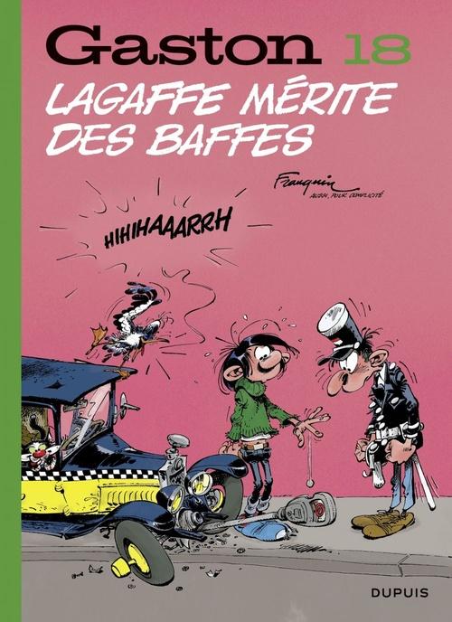 Gaston T.18 ; Lagaffe mérite des baffes