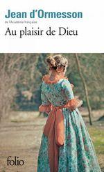 Vente EBooks : Au plaisir de Dieu  - Jean d'Ormesson