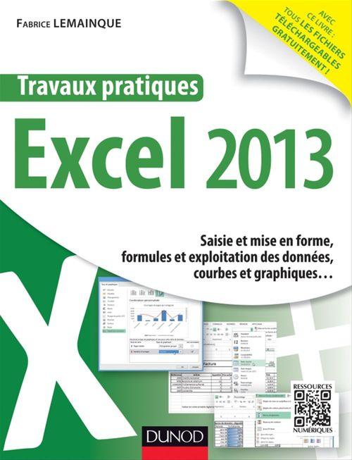 Travaux pratiques ; Excel 2013
