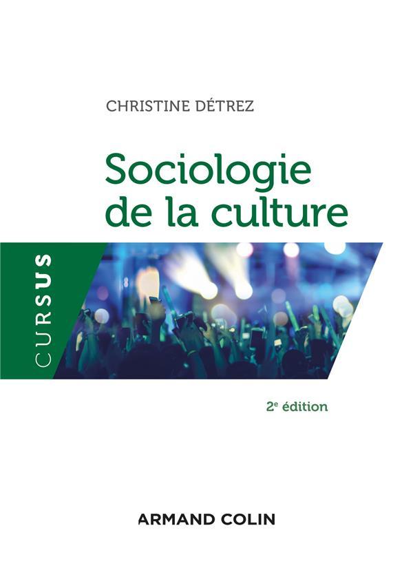 Sociologie de la culture (2e édition)