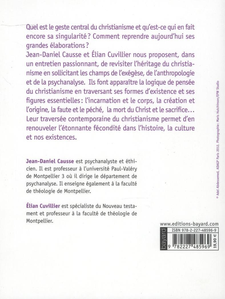 traversée du christianisme ; exégèse, anthropologie, psychanalyse