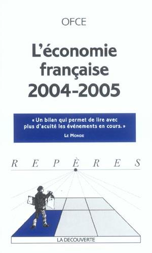 L'economie francaise 2004-2005 (édition 2004/2005)