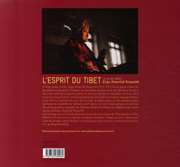 Esprit du Tibet ; la vie du maître Dilgo Khyentsé Rinpoché