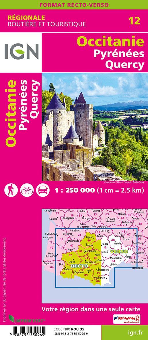 NR12 ; Occitanie, Pyrénées, Quercy (2e édition)