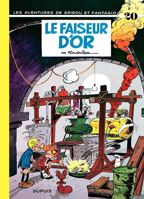 Les aventures de Spirou et Fantasio T.20 ; le faiseur d'or