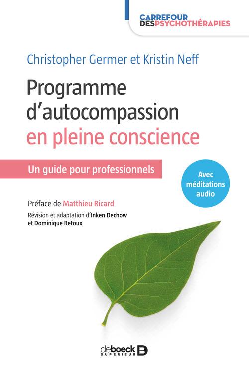 Programme d'autocompassion en pleine conscience