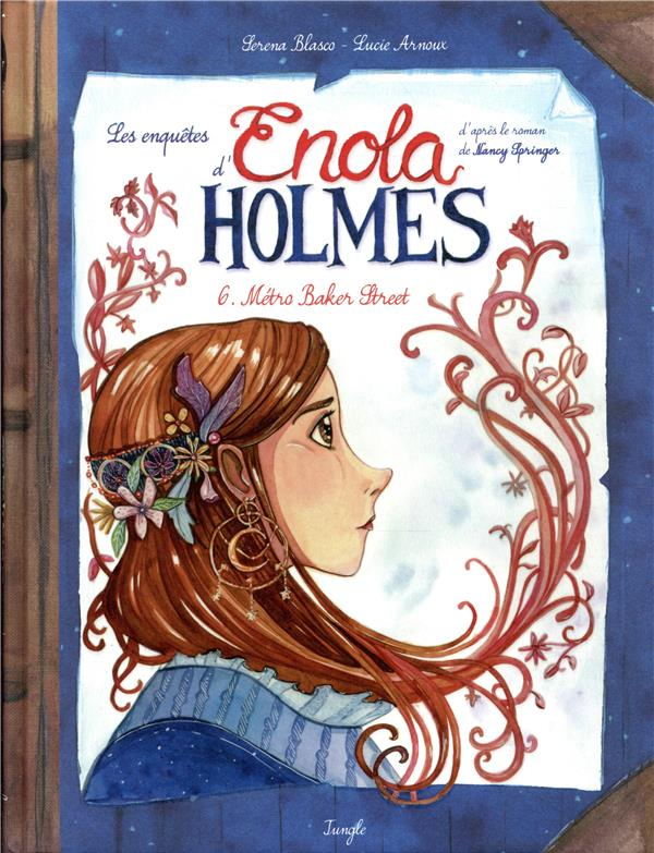 LES ENQUETES D'ENOLA HOLMES - TOME 6 METRO BAKER STREET - VOL06 BLASCO, SERENA