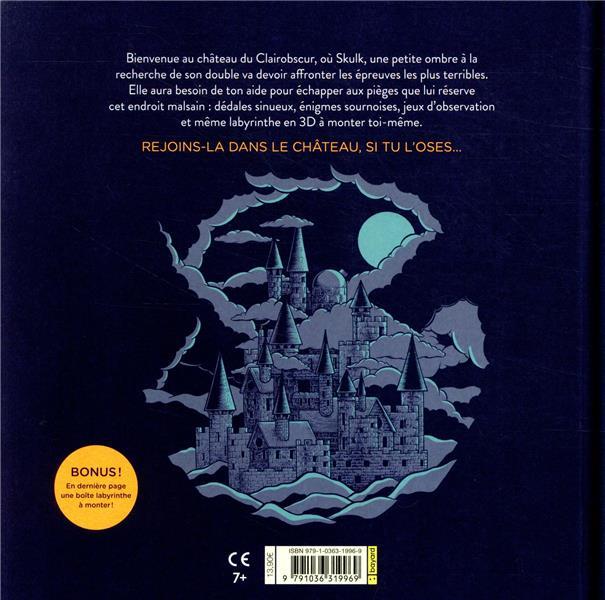 L'aventure de Skulk ; un parcours d'énigmes et de labyrinthes