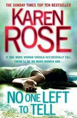 Vente EBooks : No One Left To Tell (The Baltimore Series Book 2)  - Karen Rose