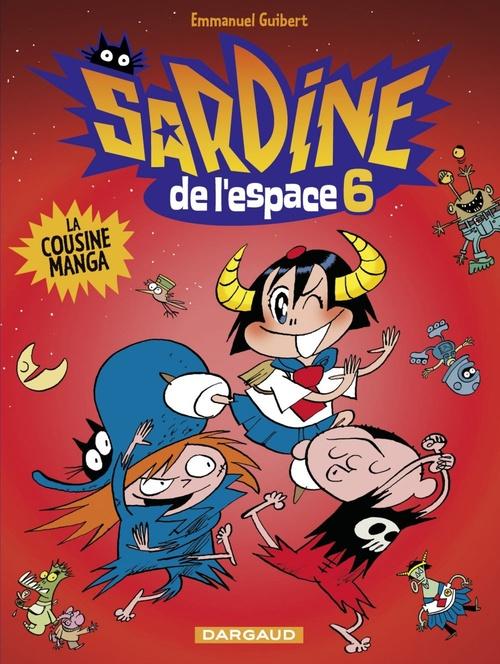 Sardine de l'espace T.6 ; la cousine manga