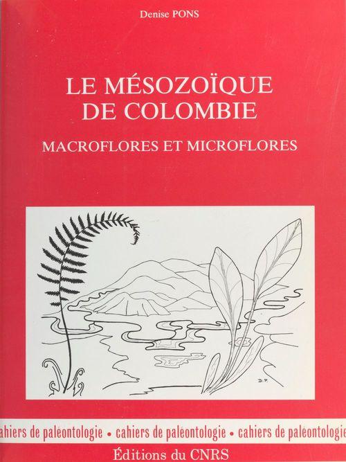 Le Mésozoïque de Colombie : macroflores et microflores