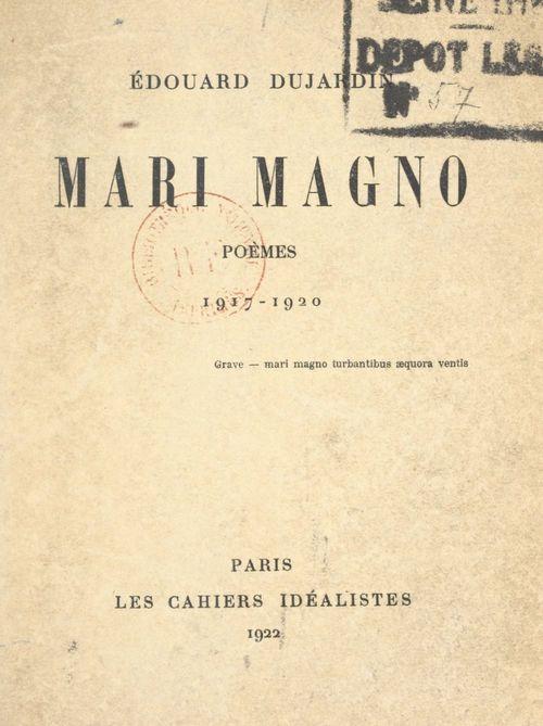 Mari Magno  - Édouard Dujardin