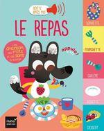 Vente Livre Numérique : Répète après moi - Le repas 1/3 ans  - Morgane Raoux - Madeleine Deny