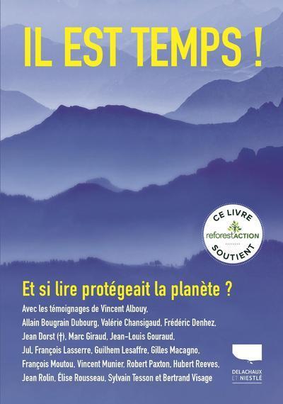 Il est temps ! et si lire protégeait la planète ?