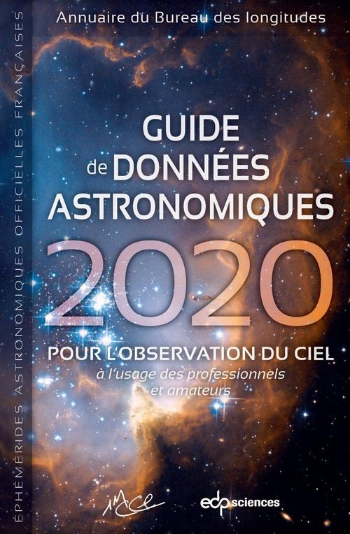 Guide de données astronomiques 2020
