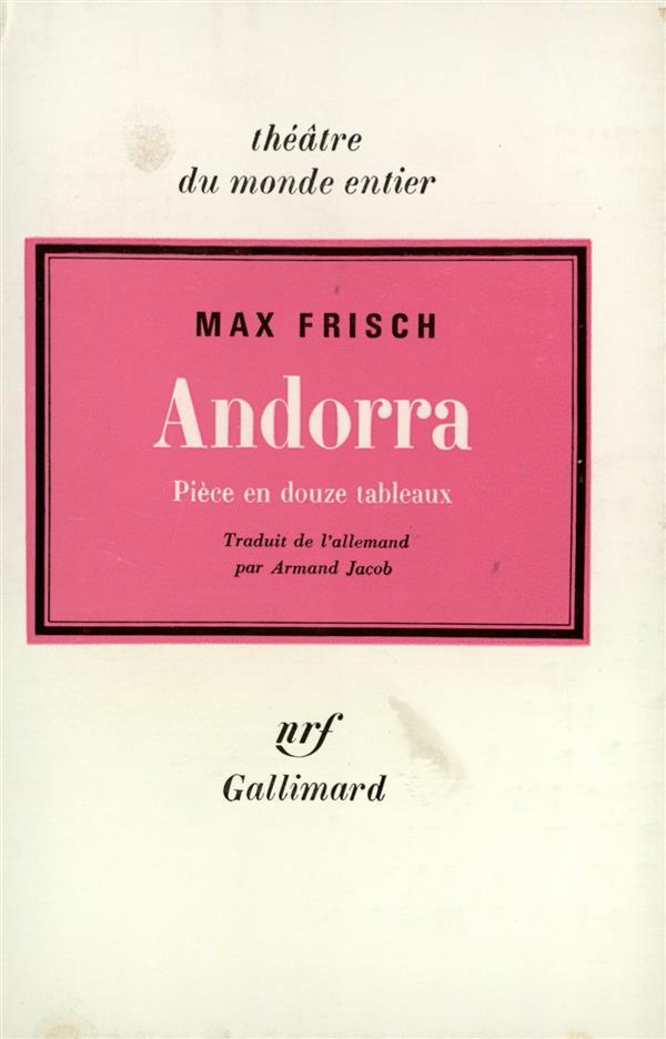 Andorra - piece en douze tableaux