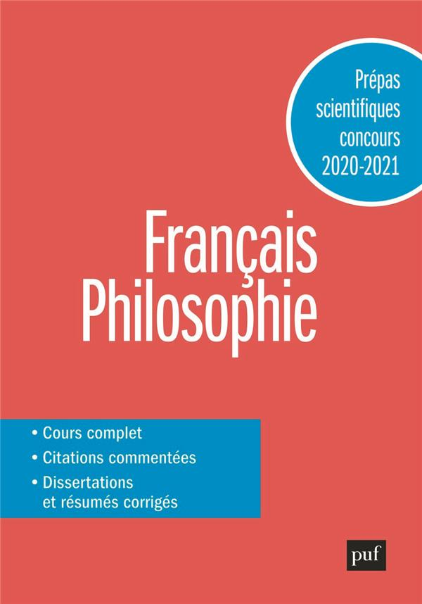 PREPAS SCIENTIFIQUES 2020-2021