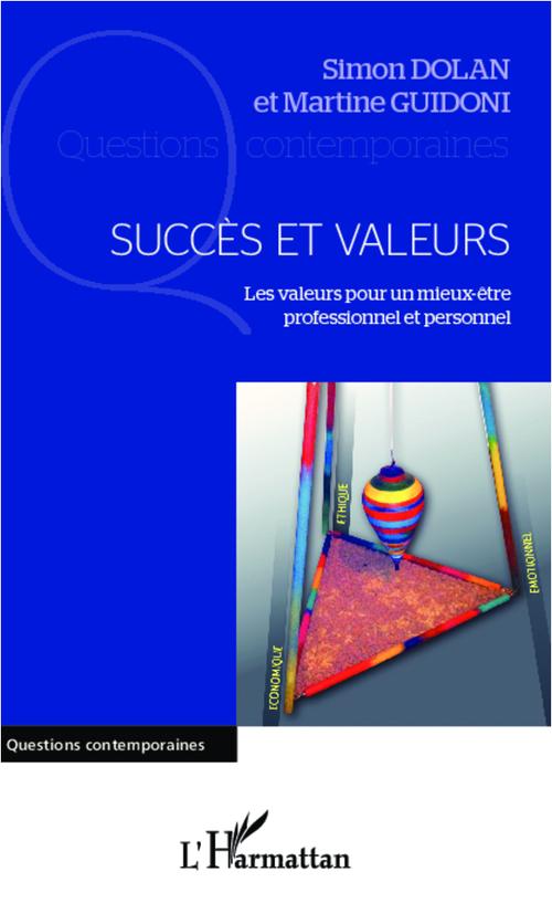 Succès et valeurs ; les valeurs pour un mieux-être professionnel et personnel