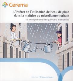 L'intérêt de l'utilisation de l'eau de pluie dans la maîtrise du ruissellement urbain ; les enseignements d'un panorama international (2e édition)