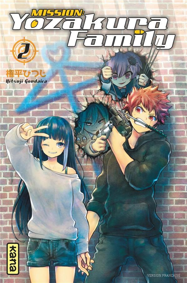 mission : yozakura family t.2