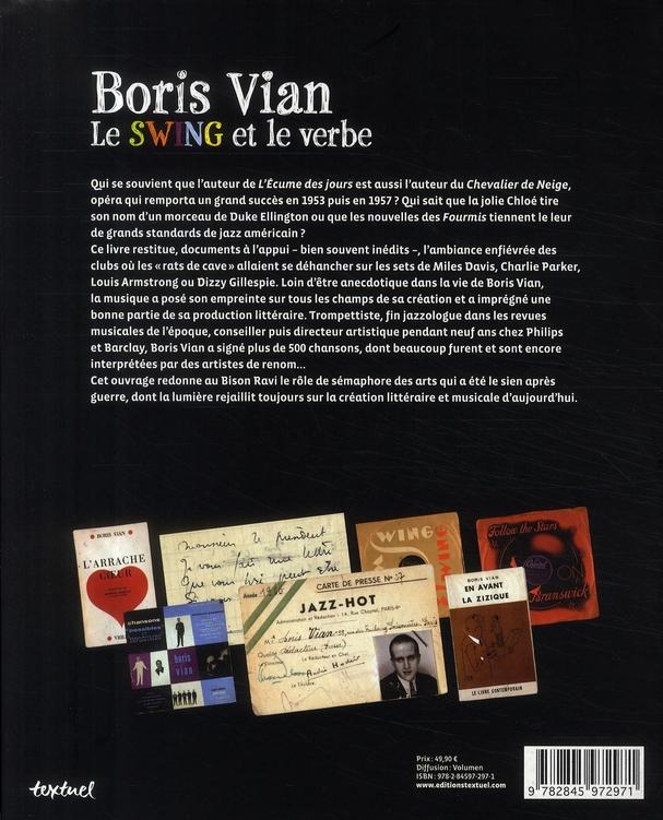 Boris Vian ; le swing et le verbe