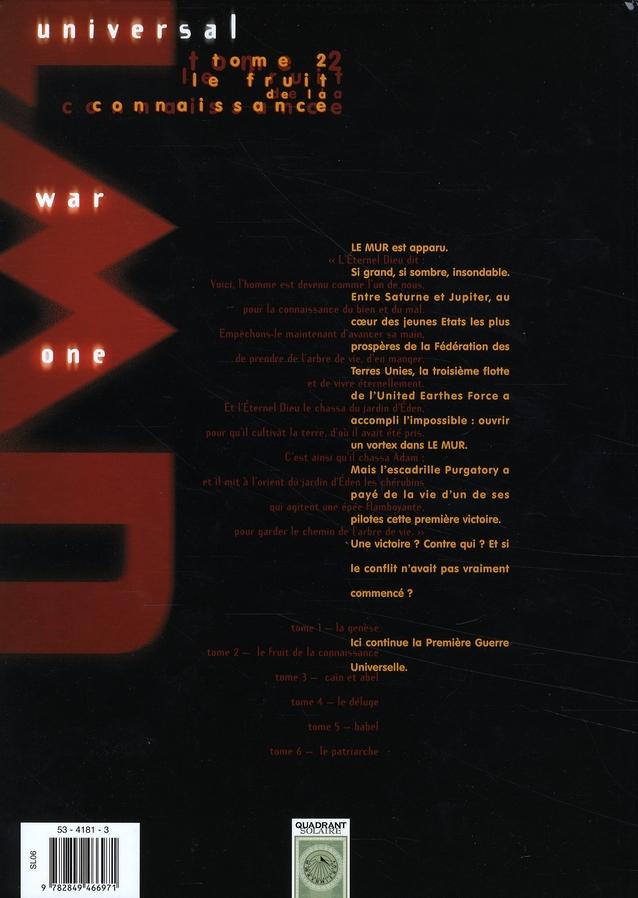 Universal war one t.2 ; le fruit de la connaissance