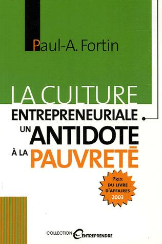 La culture entrepreneuriale ; un antidote à la pauvreté