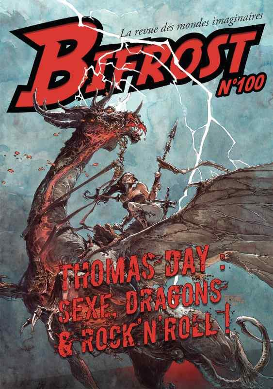 Bifrost N.100 ; Thomas Day : sexe, dragons & rock'n roll !